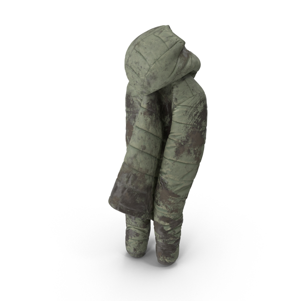 Women's Down Jacket Mud PNG & PSD Images