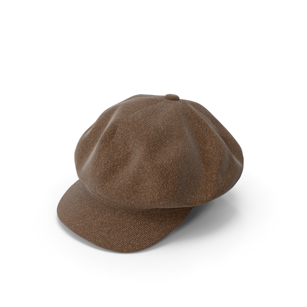 Women's Hat Brown PNG & PSD Images