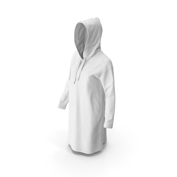 Women's Hoody White PNG & PSD Images
