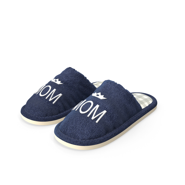 Slipper: Women's Indoor House Slippers PNG & PSD Images