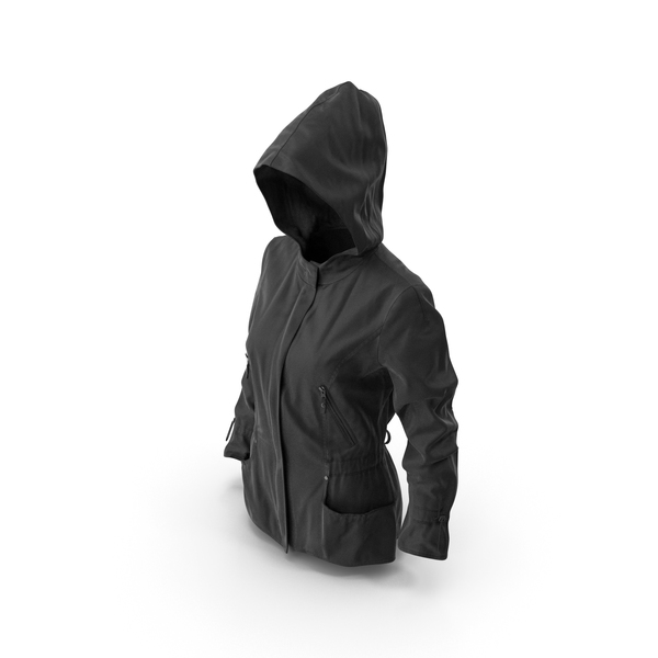 Women's Jacket Black PNG & PSD Images