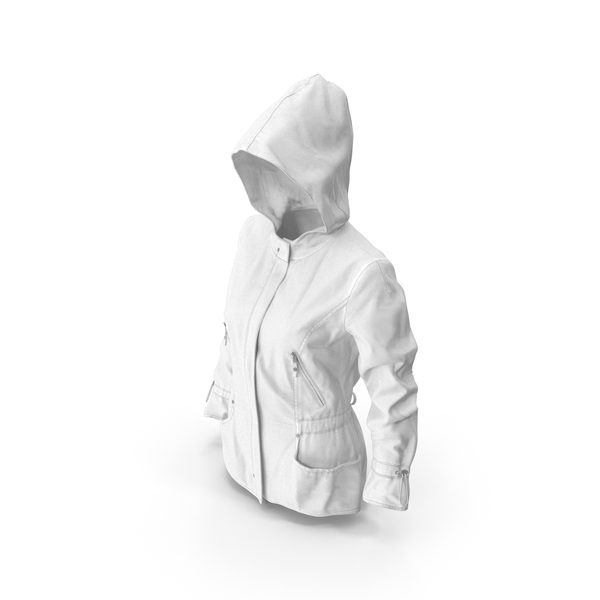 Women's Jacket White PNG & PSD Images