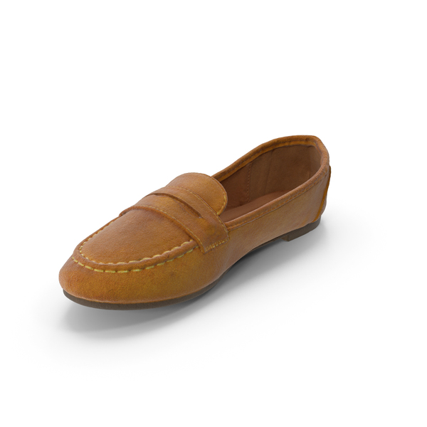 Women's Moccasin PNG & PSD Images