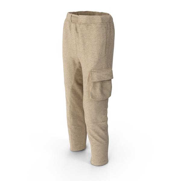 Women's Pants Beige PNG & PSD Images