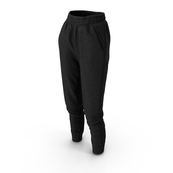 Women's Pants Black PNG & PSD Images