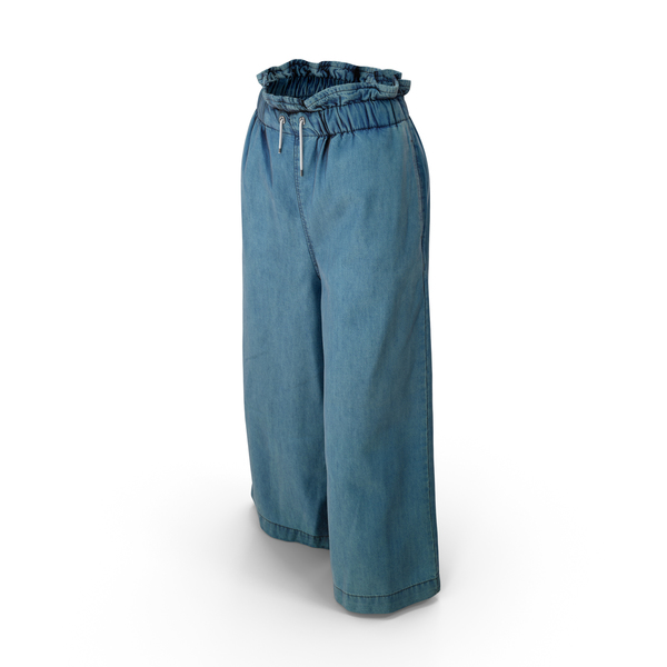 Women's Pants Dark Blue PNG & PSD Images