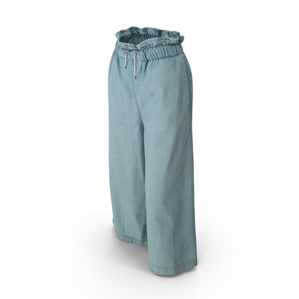Women's Pants Light Blue PNG & PSD Images