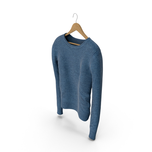 Women's Pullover Blue PNG & PSD Images