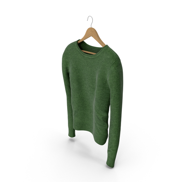 Women's Pullover Green PNG & PSD Images