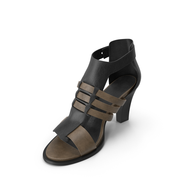 High Heel: Women's Sandals PNG & PSD Images