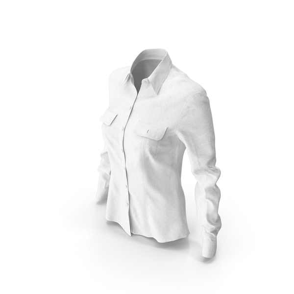 Women's Shirt White PNG & PSD Images