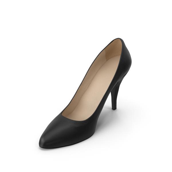 Women's Shoe Black PNG & PSD Images