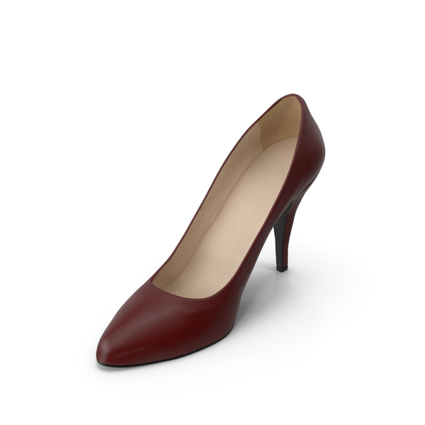 Women's Shoe Red PNG & PSD Images
