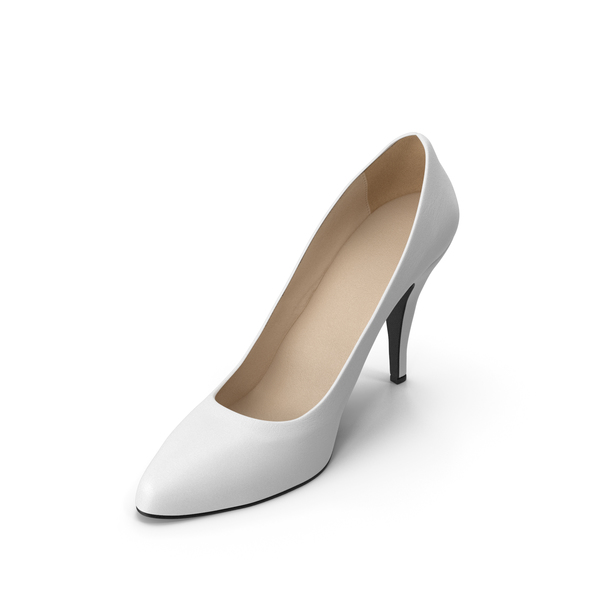 Women's Shoe White PNG & PSD Images
