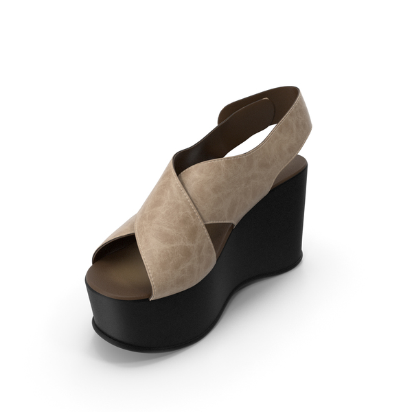 Women's Shoes Black Beige PNG & PSD Images