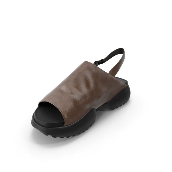 Women's Shoes Black Brown PNG & PSD Images