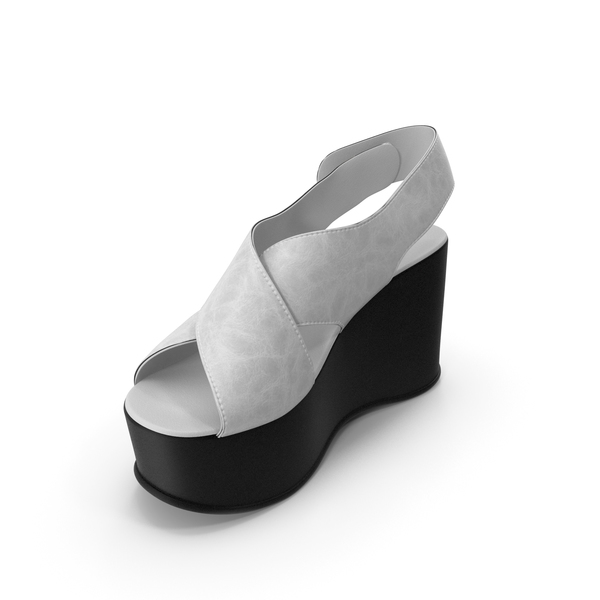 Women's Shoes Black White PNG & PSD Images
