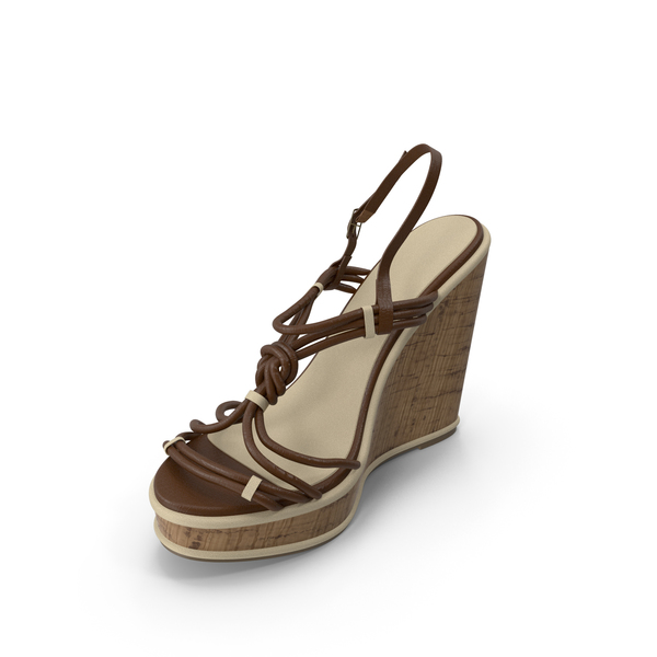 Women's Shoes Brown PNG & PSD Images