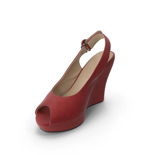 Women's Shoes Red PNG & PSD Images