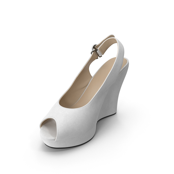 High Heels: Women's Shoes White PNG & PSD Images