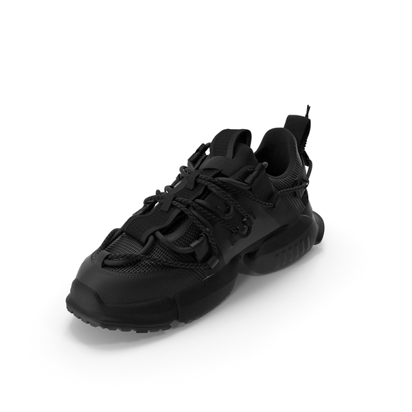Women's Sneakers  Black PNG & PSD Images