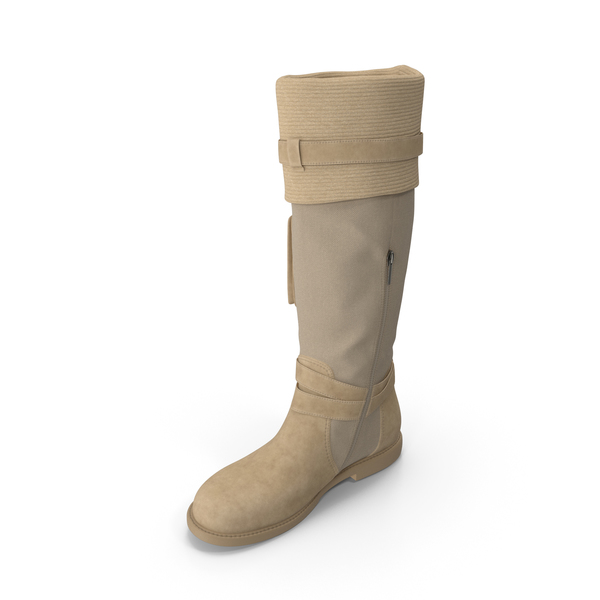 Womens Boots Beige PNG & PSD Images