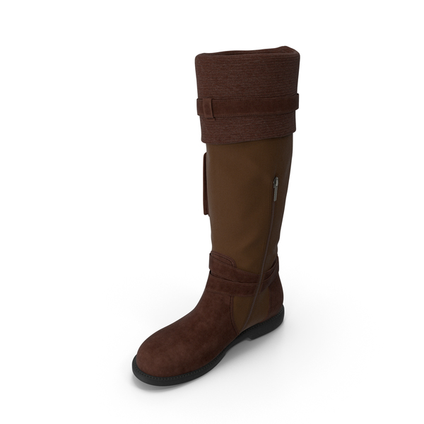 Womens Boots Brown PNG & PSD Images