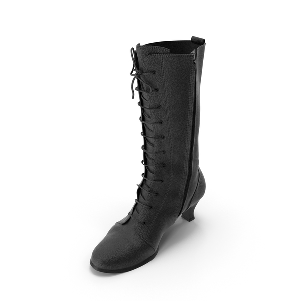 Womens High Heel Shoes Black PNG & PSD Images