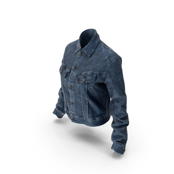 Jean: Womens Jacket Dark Blue PNG & PSD Images
