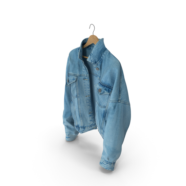 Womens Jean Jacket PNG & PSD Images