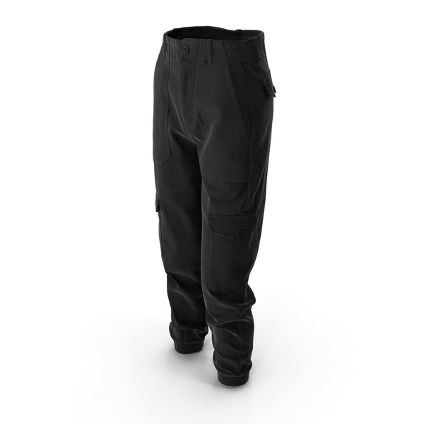 Womens Pants Black PNG & PSD Images