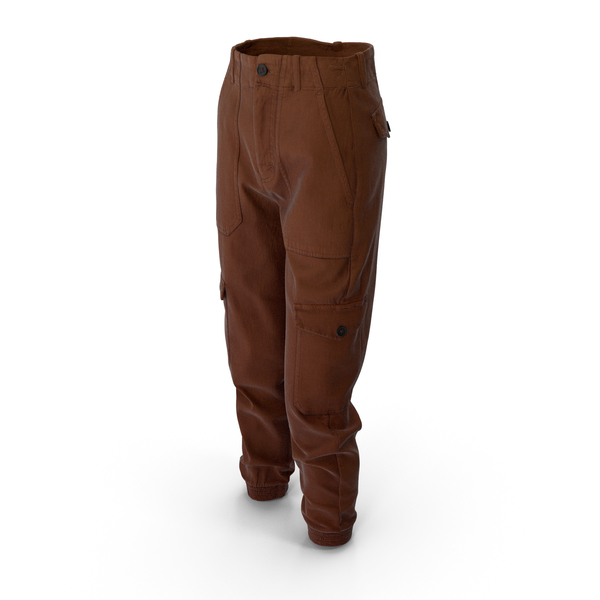 Womens Pants Brown PNG & PSD Images