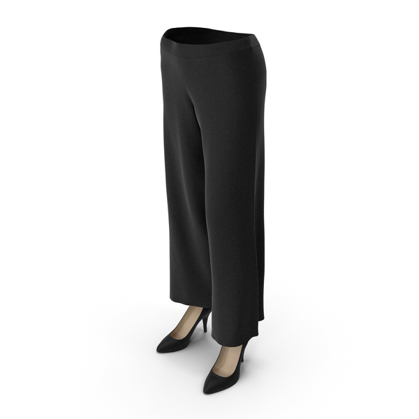 Womens Pants Shoes Black PNG & PSD Images