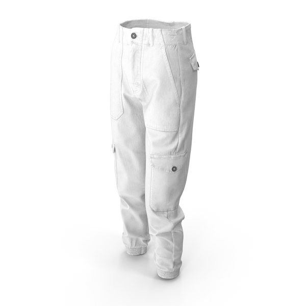 Womens Pants White PNG & PSD Images