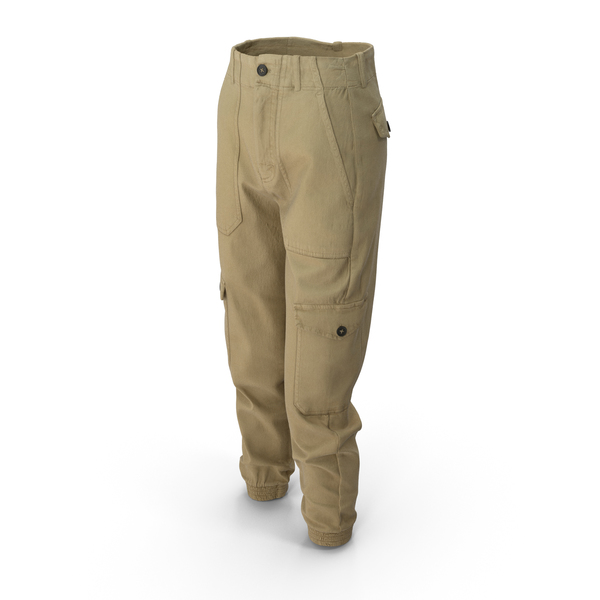 Womens Pants Yellow PNG & PSD Images