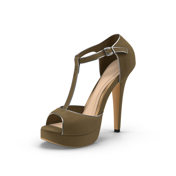 High Heel Sandals: Womens Shoes Beige PNG & PSD Images