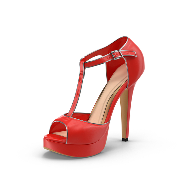Womens Shoes Red Object