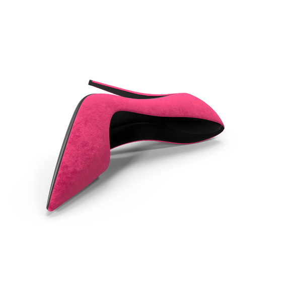 Womens Shoes Suede Pink PNG & PSD Images