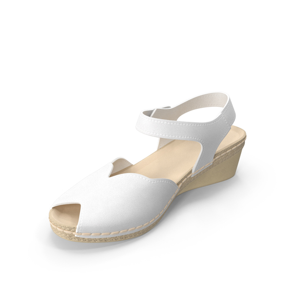Sandals: Womens Shoes White PNG & PSD Images