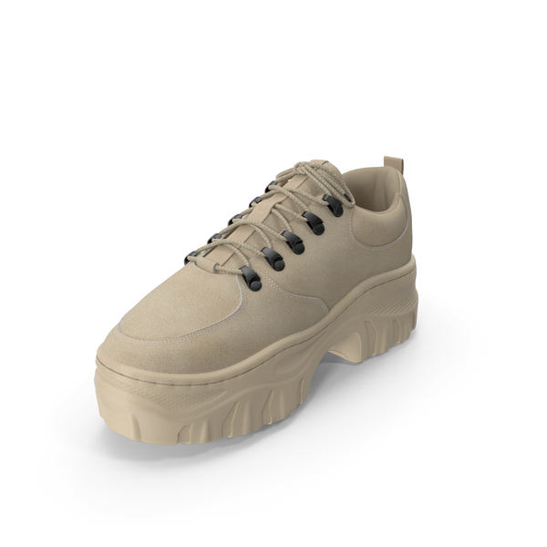 Womens Sneakers Beige PNG & PSD Images