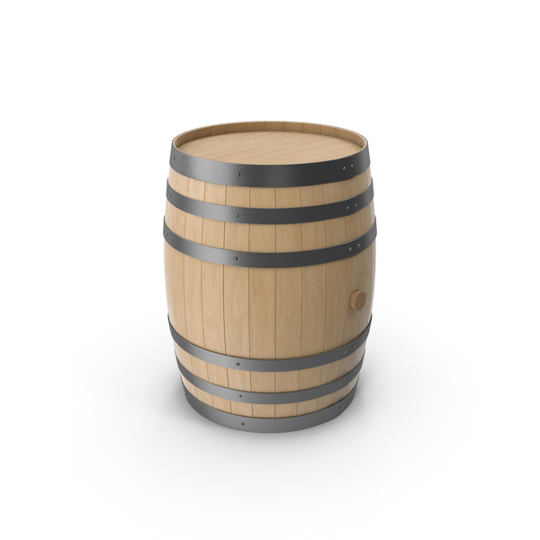 Wood Barrel PNG & PSD Images
