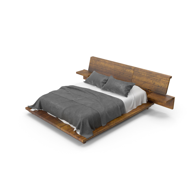 Wood Bed PNG & PSD Images