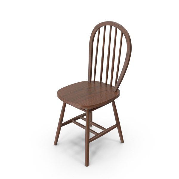 Wood Chair Dark PNG & PSD Images