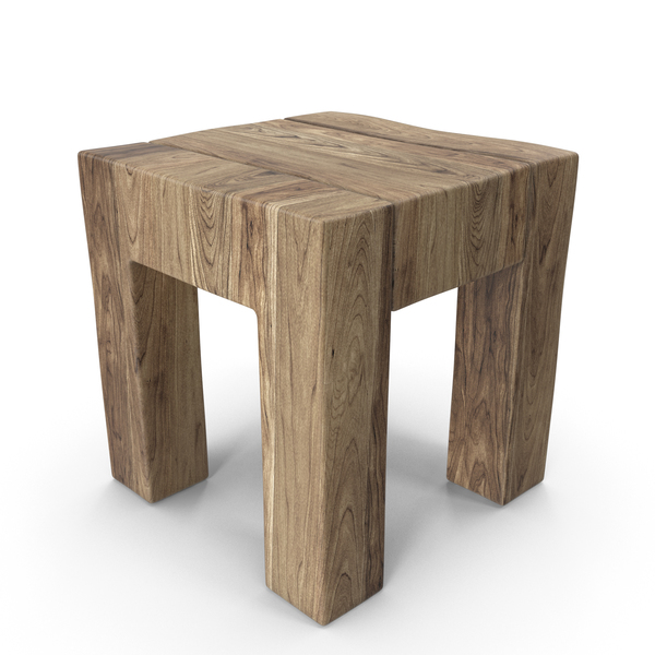 Stool: Wood Chair PNG & PSD Images