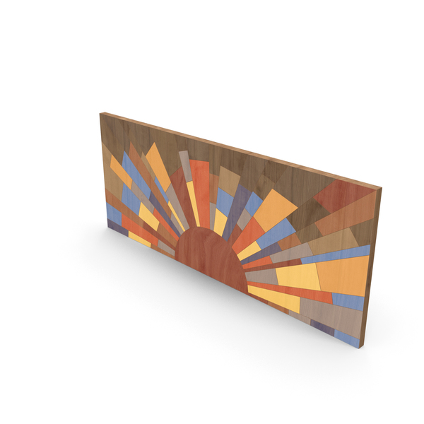 Wood Painting Wall Art PNG & PSD Images