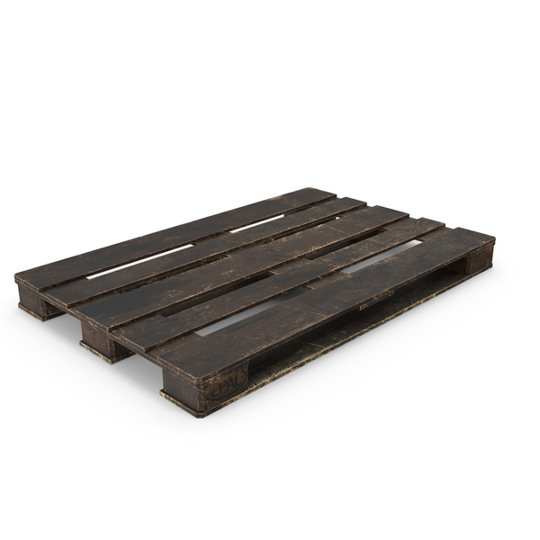 Wood Pallet Painted Black PNG & PSD Images