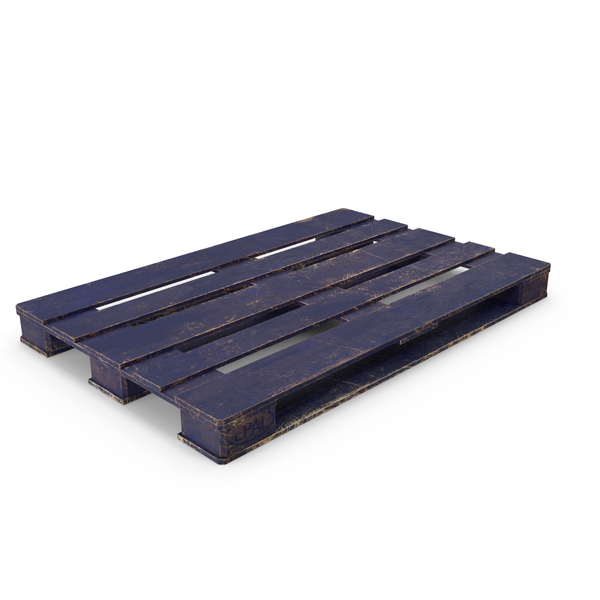 Wood Pallet Painted Blue PNG & PSD Images