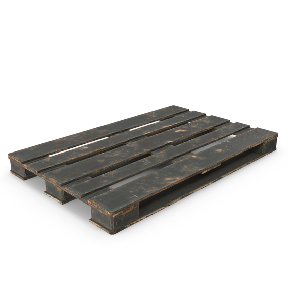 Wood Pallet Peeled Black PNG & PSD Images