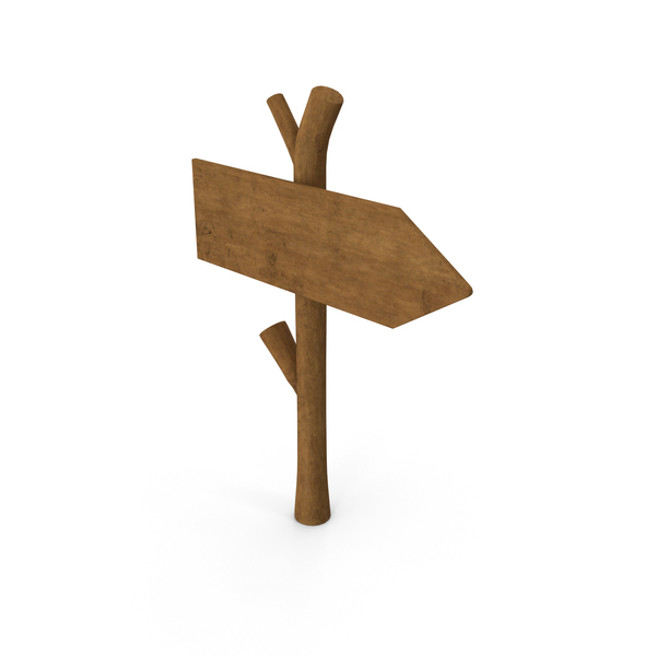 Wood Sign PNG & PSD Images