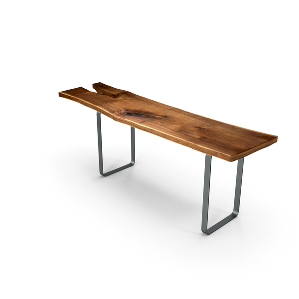 Wood Slabs Table PNG & PSD Images